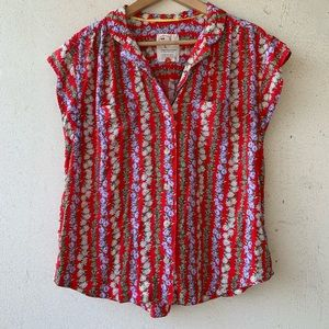 Anthropologie limited edition button down